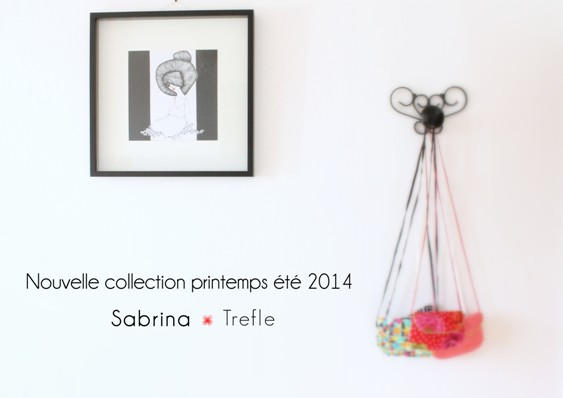 annonce nouvelle collection mode sabrina trefle