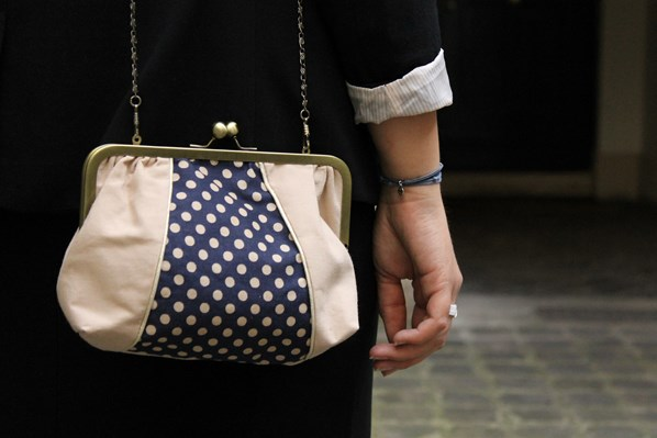 bag with dots