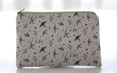 pochette alna tatoo birds